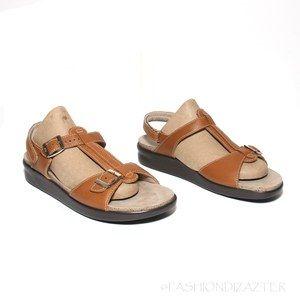 SAS Captiva T-strap Sandals Caramel 11N
